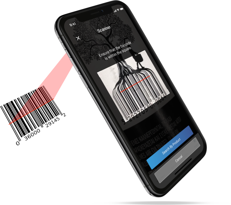 Built-In Barcode Scanner Using the Camera